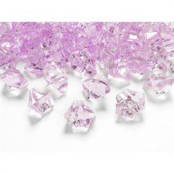 """Kryształowy lód, różowy, 25 x 21mm, 1op."""""""
