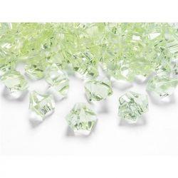 "Kryształowy lód, j. zieleń, 25 x 21mm, 1op."""