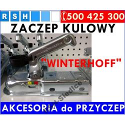 ZACZEP KULOWY PRZYCZEPY 800kg KWADRAT60 WINTERHOFF