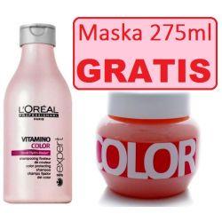LOREAL Vitamino Color Szampon 250ml + MASKA 275ml