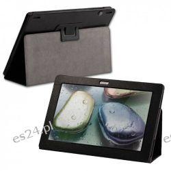 Tasche für Lenovo IdeaTab S6000 Tablet Schutz Hülle Schutztasche Leder-Optik schwarz