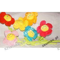 pluszowy kwiatek uśmiechnięty