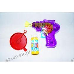 bańki mydlane pistolet na bańki świecący