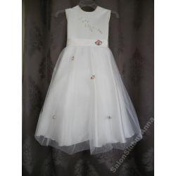 Sukienka balowa wizytowa druhna księżniczka 128