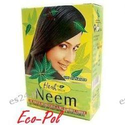 Maseczka Neem w proszku 2w1 - do włosów (łupież) i twarzy (cera tłusta) 100g Hesh