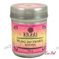 Piling do Twarzy Różany (naturalne składniki) 50g Khadi