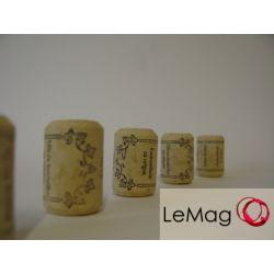 Korki do butelek do wina Aquavik 24/35 (50 szt)