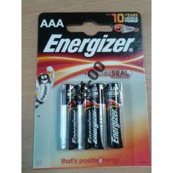 Baterie alkaliczne ENERGIZER AAA blister 2023r 4sz
