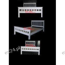 Łóżko Sosnowe Białe 120x200