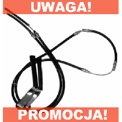 LINKA HAMULCA RĘCZNEGO FORD TRANSIT '91 DŁ.2730MM