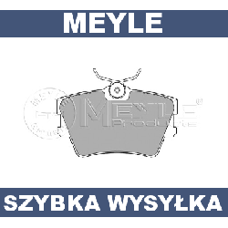 KLOCKI HAMULCOWE TYŁ VW TRANSPORTER IV T4 Meyle!