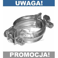 ŁĄCZNIK OBEJMA TŁUMIKA AUDI 80 100 90 A6 INNE HIT!