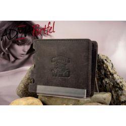 SUPER HIT skórzany portfel MĘSKI Always WILD