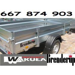 Przyczepka Samochodowa Brenderup 258/128 SIEDLCE