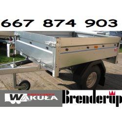 Przyczepka Samochodowa BRENDERUP 144x116x35 NOWA