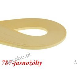 Paski do quillingu 3mm/297mm 787 jasnożółty