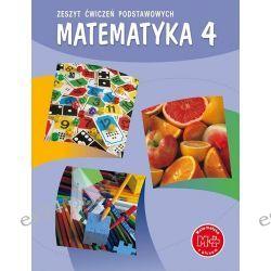 Matematyka SP 4 zeszyt ćwiczeń podstawowych GWO