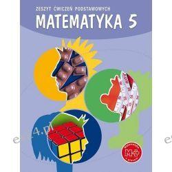 Matematyka SP 5 zeszyt ćwiczeń podstawowych GWO
