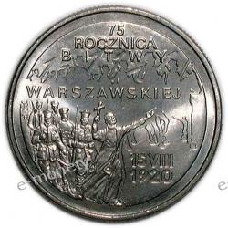 2 zł 75 Rocznica Bitwy Warszawskiej 1995 rok
