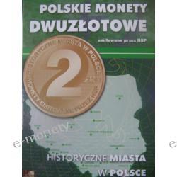 2 zł Miasta Polski KOMPLET 32 szt. w ALBUMIE !