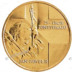 2 zł GN Jan Paweł II - 25-lecie pontyfikatu 2003 rok