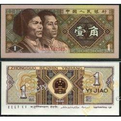 Chiny 1 Jiao 1980 rok