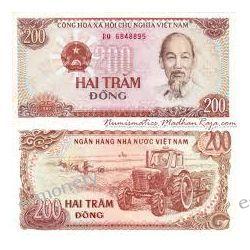 Wietnam 200 DONG 1987 1919 - 1939 złote