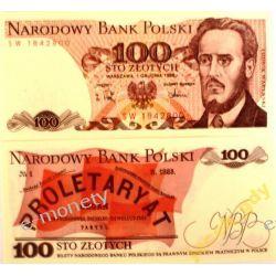 Polska 100 ZŁOTYCH 1988 rok