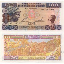 Gwinea 100 FRANCS 2012