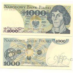 Polska 1000 ZŁOTYCH 1982 rok Kopie i falsyfikaty