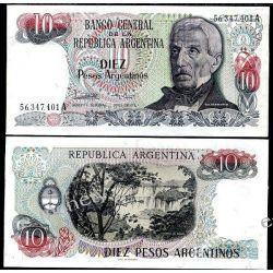 Argentyna 10 PESOS 1983