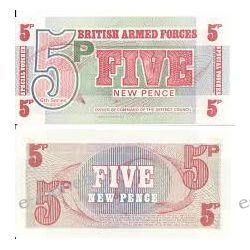 Wielka Brytania 5 NEW PENCE
