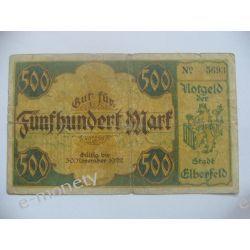 Niemcy 500 MAREK 1922 1919 - 1939 złote