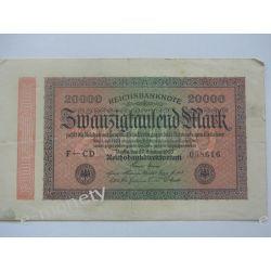 Niemcy 20 000 MAREK 1923