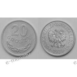 20 groszy 1979 mennicza Monety groszowe