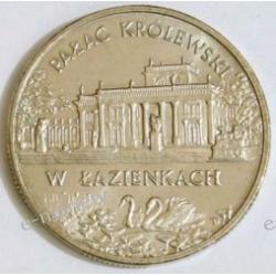 2 zł Pałac w Łazienkach 1995 rok