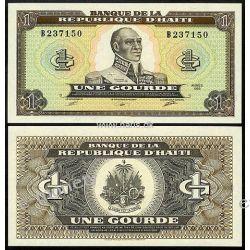 Haiti 1 GOURDE 1989 Kopie i falsyfikaty