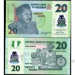 Nigeria 20 NAIRA 2007 polimer