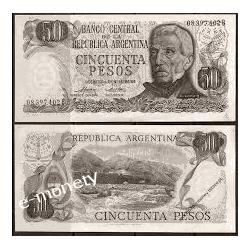 Argentyna 10 PESOS 1978 do 1923