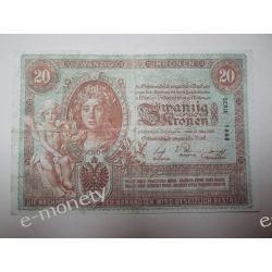 Austria 20 KRONEN Pieniądz papierowy