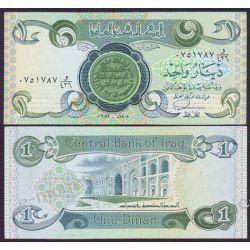 Irak 1 DINAR 1984 Pieniądz papierowy