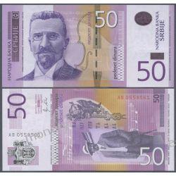Serbia 50 DINARÓW 2011 Pieniądz papierowy