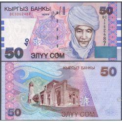 Kirgistan 50 SOM 2002 do 1923