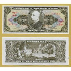 Brazylia 5 CRUZEIROS 1962 1919 - 1939 złote