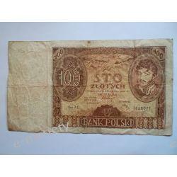 Polska 100 ZŁOTYCH 1934 s.III Pieniądz papierowy