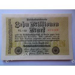 Niemcy 10000000 MAREK 1923 - UNC Pieniądz papierowy