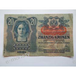 Austria 20 Koron 1919 Europa