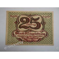Niemcy 25 Pfennig 1920 - dobry Pieniądz papierowy