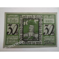 Niemcy 30 Pfennig 1921 - st. bdb. Pieniądz papierowy
