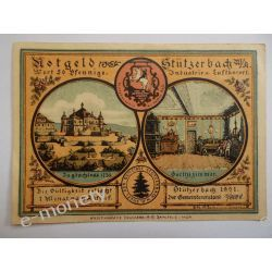 Niemcy 50 Pfennig 1921 - st. bdb. Pieniądz papierowy